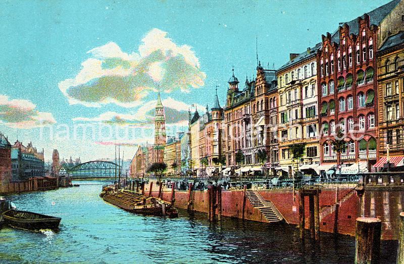 Historisches Foto Vom Zollkanal Dovenfleet Gesch Fte
